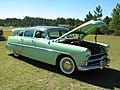1954 Hudson Hornet Twin H sedan green rf.jpg