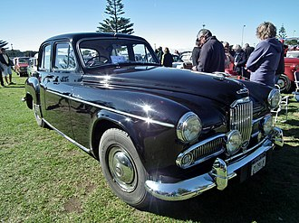 Humber Super Snipe - 1955 example