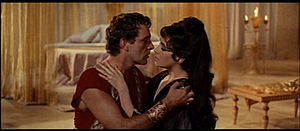 Cropped screenshot of Richard Burton and Eliza...