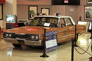 San Diego County Sheriff's Department - Salmon-colored 1966 Dodge Polara