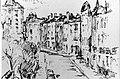 1968 square Armand Steurs à Saint-Josse ten Noode, encre par Léon van Dievoet le 2 novembre 1968.JPG