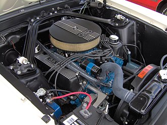 Ford 335 engine - Image: 1969 Ford Mustang 351 Cleveland