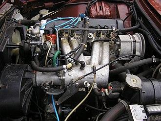 Firing order - Image: 1974 SAAB99LE engine