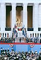 1989 Presidential Inauguration, George H. W. Bush, Opening Ceremonies, at Lincoln Memorial (3198994743).jpg