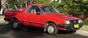 Subaru BRAT - Image: 1989 Subaru Brumby utility (2010 05 19) 02