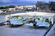 199th Fighter Interceptor Squadron F-102s Hickam AFB 1976