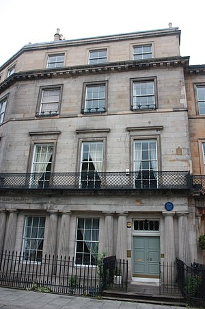 Thomas Henderson (astronomer) - 1 Hillside Crescent, Edinburgh