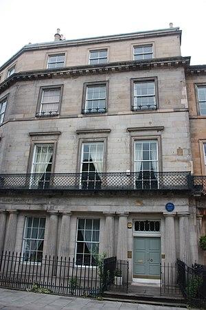Thomas Henderson (astronomer) - 1 Hillside Crescent, Edinburgh