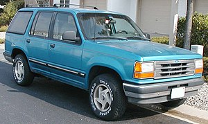 1991-1994 Ford Explorer photographed in USA. C...