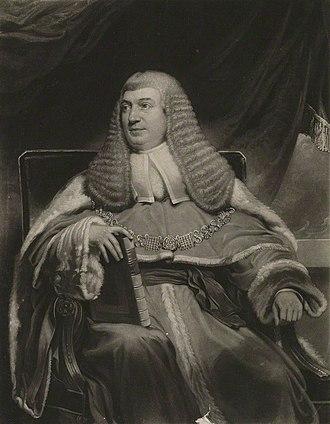 Baron Wynford - William Best, 1st Baron Wynford.