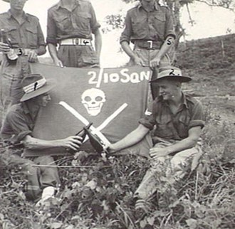 2/6th Cavalry Commando Regiment (Australia) - Karawop, New Guinea, 18 September 1945.