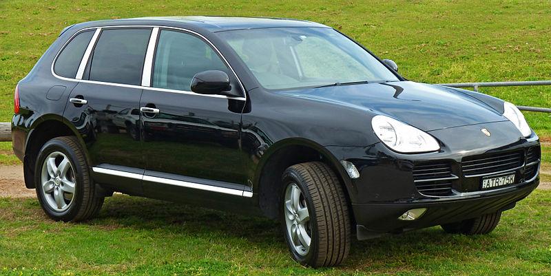 File:2003-2006 Porsche Cayenne (9PA) S wagon 01.jpg