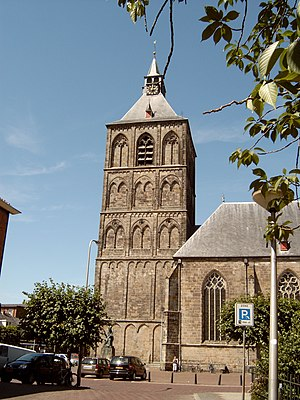 Basilica of St Plechelm - The tower of the basilica