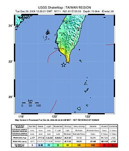2006Dec26 TaiwanSouth Earthquake USGS-ShakeMap.jpg
