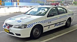 2006 Ford Falcon (BF) XT sedan, NSW Police Force (2008-10-09) 01.jpg