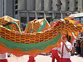 2008 Olympic Torch Relay in SF - Dragon dance 07.JPG