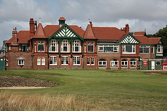 Royal Lytham & St Annes Golf Club - Clubhouse in July 2009