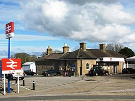 2009 at St Erth station - entrance from the road.jpg