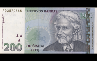 former currency of Lithuania