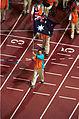 201000 - Opening Ceremony swimmer Brendan Burkett flag 3 - 3b - 2000 Sydney opening ceremony photo.jpg