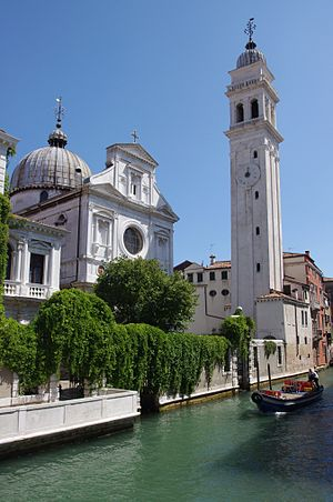 Greek diaspora - San Giorgio dei Greci, Venice.