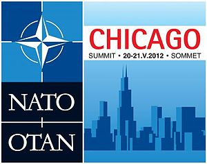 2012 Chicago summit - Logo of the 2012 Chicago Summit