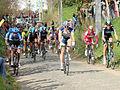 2012 Ronde van Vlaanderen, Main Peloton - first pass Oude Kwaremont (7038278341).jpg