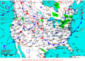 2013-02-06 Surface Weather Map NOAA.png