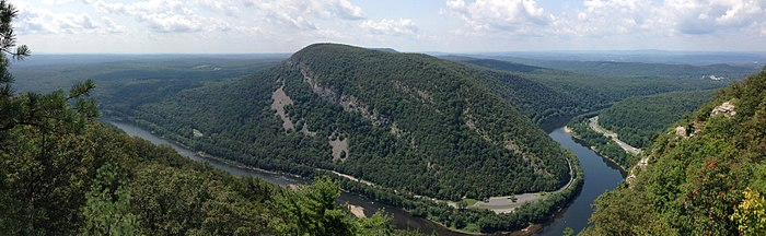 Mount Tammany view