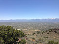 "2014-06-13 12 32 58 View southeast from the summit of ""E"" Mountain in the Elko Hills of Nevada.JPG"