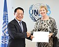 2014-Ambassador Mary Whelan, Permanent Representative of Ireland to UNIDO (15072000470).jpg