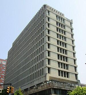Manuel Pinho -  SIPA's office building at Columbia University, where Manuel Pinho was visiting professor between 2010-14