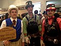 2014 Dragon Con Cosplay - Steampunk Mario Bros (15121214581).jpg