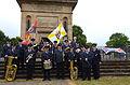 2015-06-20 200 Jahre Schlacht bei Waterloo, Welfenbund, The Royal British Legion, Hannover, Waterloosäule, (39).JPG