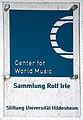 2015-11-14 Freundeskreis Hannover in Hildesheim, (547) Center for World Music, Sammlung Rolf Irle.JPG