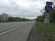 U S  Route 40 in Maryland - Wikipedia
