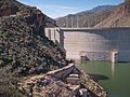 2016 Arizona Roosevelt Dam upstream side 02.jpg