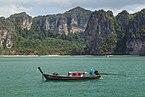 2016 Prowincja Krabi, Widoki ze statku płynącego na trasie Ao Nang - Ko Lanta Yai (23).jpg