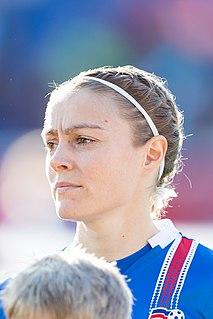 Sif Atladóttir Icelandic footballer