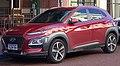 2017 Hyundai Kona (OS MY18) Highlander 2WD wagon (2018-07-19) 01.jpg