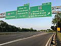 2018-05-29 19 36 35 View south along Interstate 287 at Exit 10 (Somerset County Route 527-Easton Avenue, South Bound Brook, New Brunswick) in Franklin Township, Somerset County, New Jersey.jpg