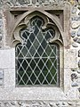 2018-06-13 Window, Parish church of Saint John the Baptist's head, Trimingham (1).JPG