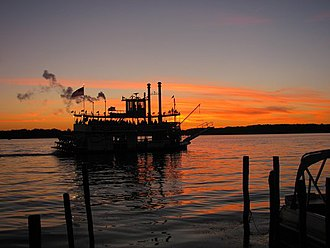 Chautauqua Belle - Chautauqua Belle steaming on Chautauqua Lake, Summer 2010