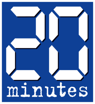 20 minutes (France) - Logo of 20 minutes