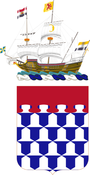 212th Coast Artillery (United States) - Coat of arms