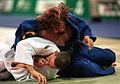 231000 - Judo Anthony Clarke fights Ian Rose 4 - 3b - Sydney 2000 match photo.jpg
