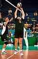 231000 - Standing volleyball Bill McHoul sets - 3b - 2000 Sydney match photo.jpg