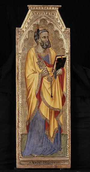 Cecco di Pietro - Saint Peter by Cecco di Pietro, Musée du Petit Palais, Avignon