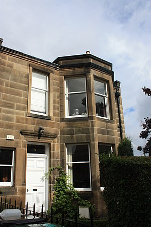 Hugh Macmillan (minister) - 2 Murrayfield Road, Edinburgh