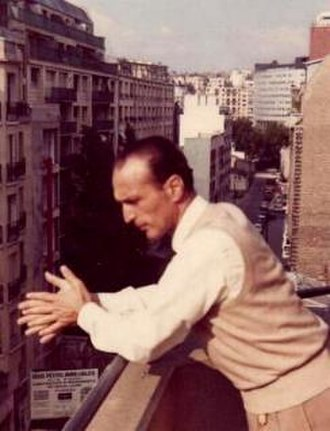 Francesco Mander - Francesco Mander, Paris 1967. In the background the French radio and TV headquarters